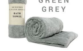 Uterák BATH TOWEL GREEN GREY
